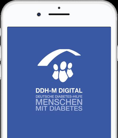 Ansicht der App DDH-M Digital