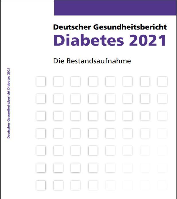 Titelbild Deutscher Gesundheitsbericht Diabetes 2021