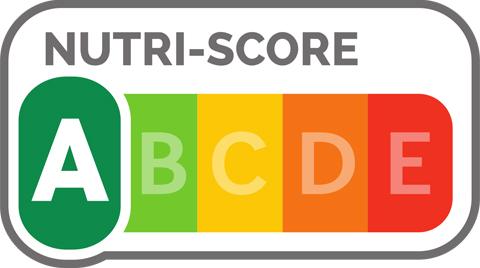 Nutri-Score, eine vereinfachte, farblich unterlegte Darstellung der Nährwertqualität von Lebensmitteln