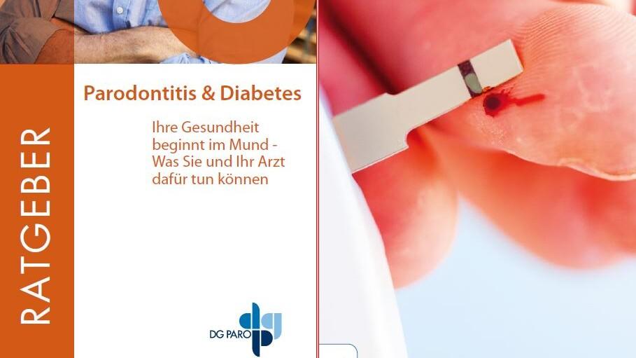 Cover Broschüre Parandontitis und Diabetes der DGPARO