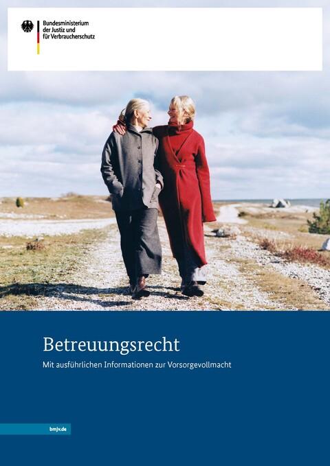 Bild der Broschüre Betreuungsrecht