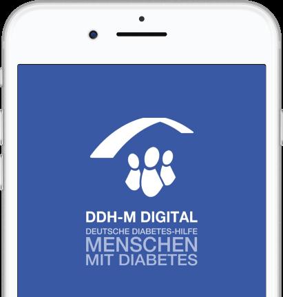 Startbild der App DDH-M Digital