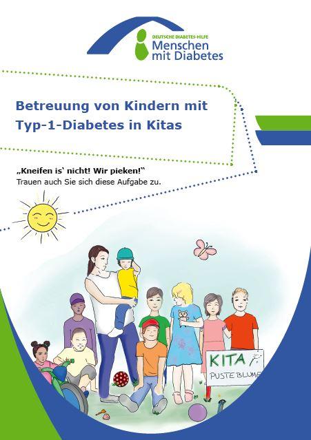 """Betreuung von Kindern mit Typ-1-Diabetes in Kitas"""", eine Broschüre der DDH-M"""
