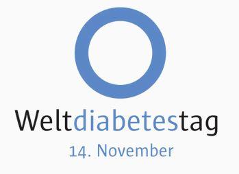 Blue Circle Weltdiabetestag
